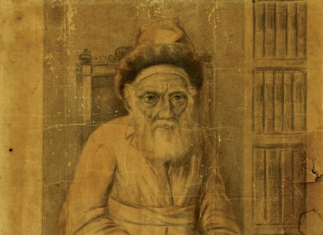 תגלית מרגשת: ציור של הרבי ה'צמח צדק'