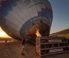 תיעוד מרשים: פסטיבל הכדורים הפורחים