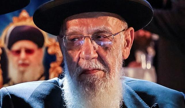 """נשיא מועצת חכמי התורה הגר""""ש כהן"""
