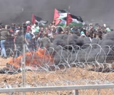 """פגיעה ממוקדת בעמדת חמאס ובפורעים על גדר המערכת - לעיני הפורעים: כוחות צה""""ל הפציצו בעזה"""