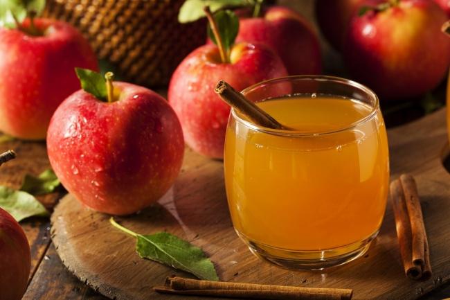 סיידר תפוחים מפנק