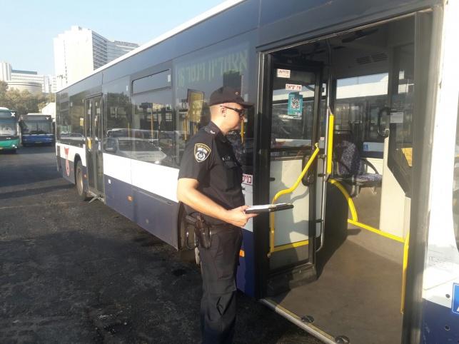 """בדיקה בת""""א: רבע מהאוטובוסים - מסוכנים"""