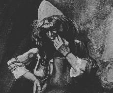 בצלאל . ציור בשימוש צבעי מים, מעשה ידי ג'יימס טיסו 1902-1896 - שפת הלב, על פי המעצב היהודי הגדול בהיסטוריה