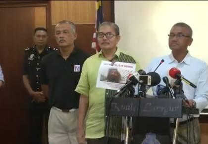 """מפקד המשטרה עם התמונה החדשה - מלזיה מציגה: תמונה חדשה של """"המחסל"""""""
