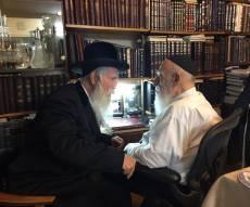 """הרב גרוסמן והגר""""ש כהן. - """"המסייעים לזכות את הרבים על ידו יתברכו"""""""