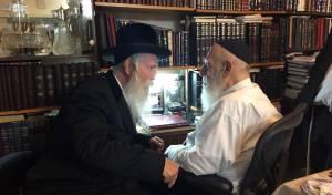 """הרב גרוסמן והגר""""ש כהן."""