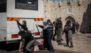 ערבים ושוטרים בשער שכם, אילוסטרציה - ארדן: נערוך שינוי מקיף בשער שכם בבירה
