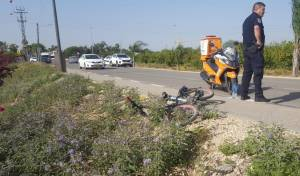 זירת התאונה