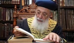 """הראש""""ל הגר""""ש עמאר בשיחה לכיכר השבת"""