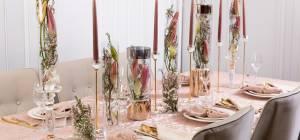 שולחן חג עם קולקציית הבית של שוקולאב הום