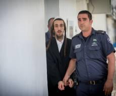 """דוד קרוס בבית המשפט, היום - נעצר חשוד בהצתת בובת חייל בל""""ג בעומר"""