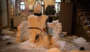 השלג בבירה בעדשה של חיים גולדברג; צפו