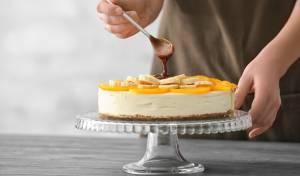 לא רק לשבועות: עוגת גבינה ובננות