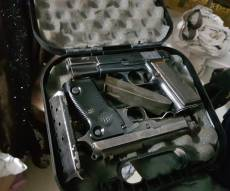 אקדחים שנתפסו