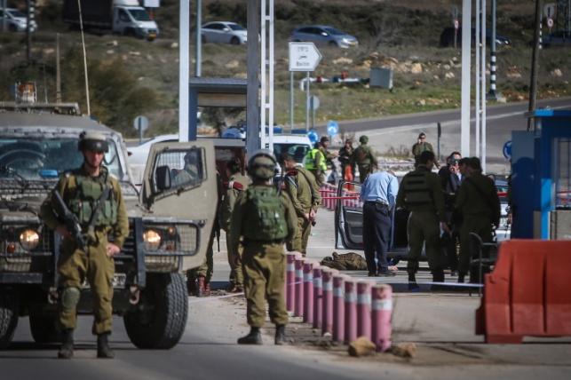 המחסום ליד בית אל