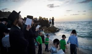 תיעוד: התשליך של קרעטשניף בחוף הים