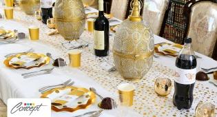שולחן חג מפואר