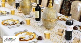שולחן חג מפואר - 3 סיבות לעצב שולחן לחג עם קונספט אישי