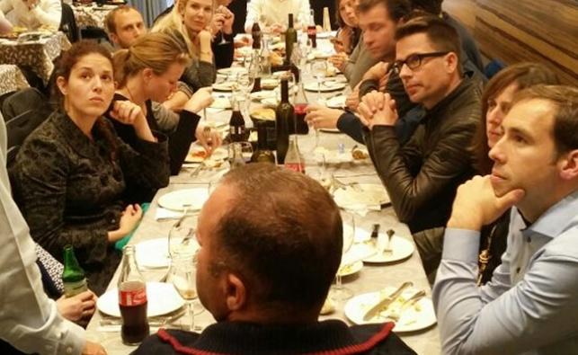 צפו בתיעוד: עיתונאים גרמנים באם הישיבות