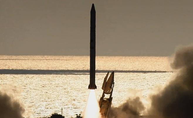 צפו: כך שוגר לוויין הריגול הישראלי לחלל