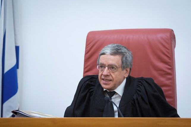 שופט בית המשפט העליון מני מזוז