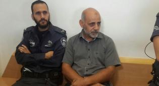 אבו עפאש בבית המשפט - מלין המחבלים נידון לחצי שנת מאסר בלבד