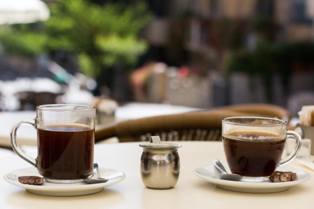 בית קפה בירושלים. אילוסטרציה