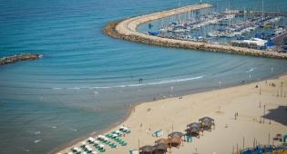 הים בתל אביב - התחזית: חם מהרגיל לעונה, מחר יהיה שרב