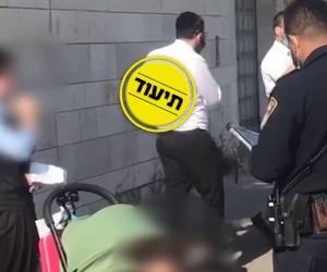 'רוע או טמטום': שוטרים עיכבו ילדה בת 13 בגלל מסכה. צפו