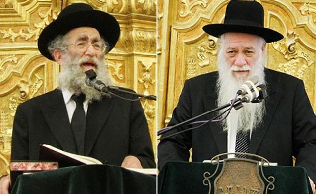 הרב כהנמן והרב מרקוביץ'