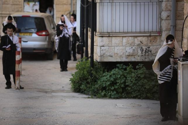 תפילה ברחוב