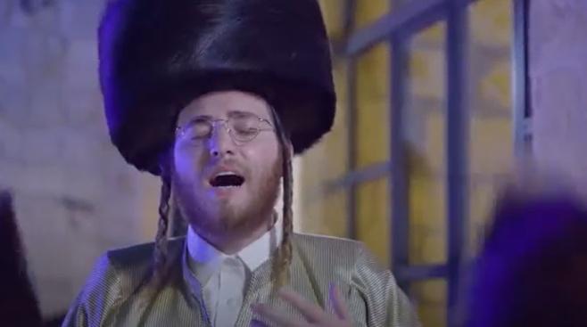 ה'שלום זכר' של גרומן, עם הזמרים החסידיים