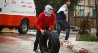 רכבו של יהודי שנכנס לכפר ערבי נשדד