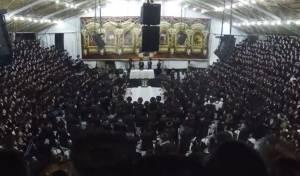 אלפי חסידי באיאן חגגו שמחת בית השואבה