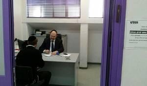 יעקב לביןב משרדי 'הפלס', בשבוע שעבר - סכסוך ב'הפלס' בין לבין לגרוסמן