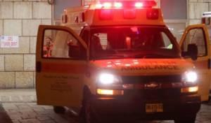 הולך רגל נפצע קשה בירושלים