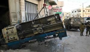 כוחות הביטחון סגרו מחרטה לייצור נשק