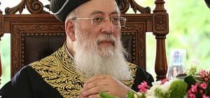 """הקבלת פני רבו לראש""""ל רבה של ירושלים הגרש""""מ עמאר"""