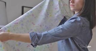 מדריך וידאו: איך לקפל סדינים בקלות ובלי להסתבך