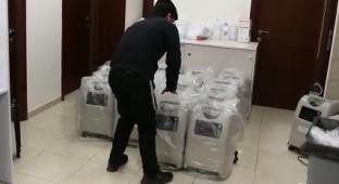 אלמוני תרם 18 אלף דולר עבור חמצן לחולי קורונה