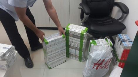 תיירים מרוסיה ניסו להבריח פאקטי סיגריות