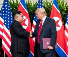 המפגש עם נשיא צפון קוריאה