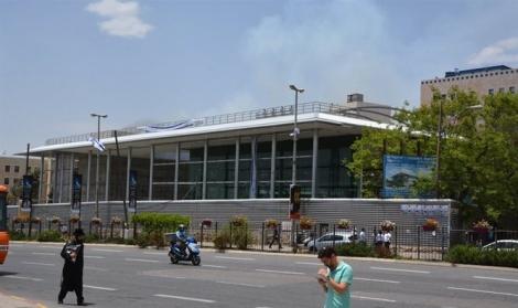 תחנת האומה בירושלים - הרכבת בין ירושלים לתל אביב תתעכב עוד