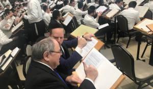 הקונסול הישראלי התיישב ללמוד ב'לייקווד'