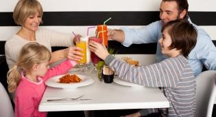 אנו מקבלים יותר זמן ליהנות מהארוחה שלנו