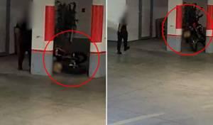 אישום: הזיק ל-23 כלי רכב בחניון הבניין; צפו