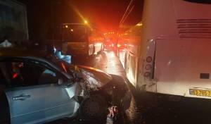 הרוג ושני נפגעים קל בתאונה בבית שמש