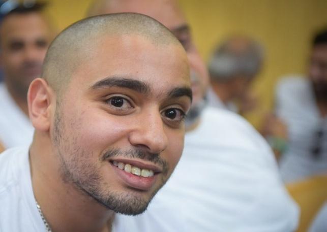 האסיר אלאור אזריה מתכנן ללמוד משפטים