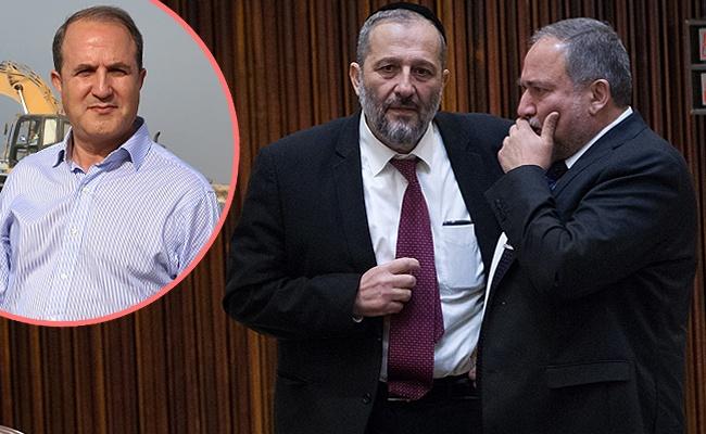 דרעי וליברמן דנו: האם להריץ מועמד לראשות העיר אשדוד