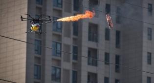 רחפנים בסין: לא רק בשביל לצלם מהאוויר